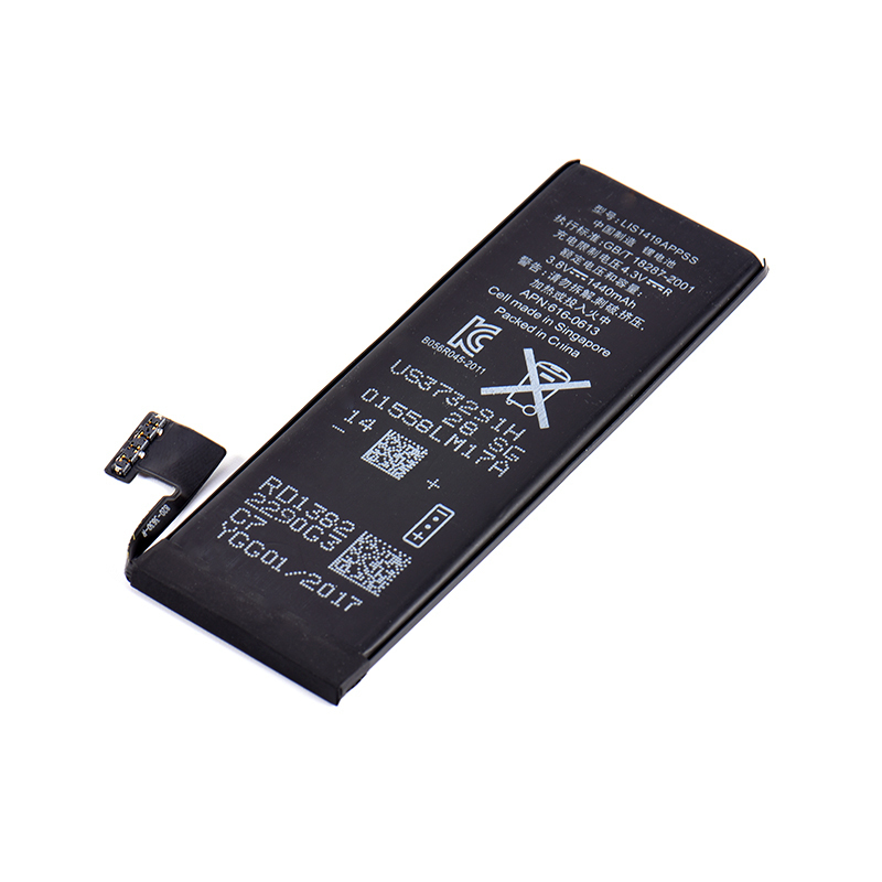 100% High Quality 1440MAH Mobile Phone Built-in Lithium Battery Compatible For iPhone 5 Replacement Battery for Iphone5 ...