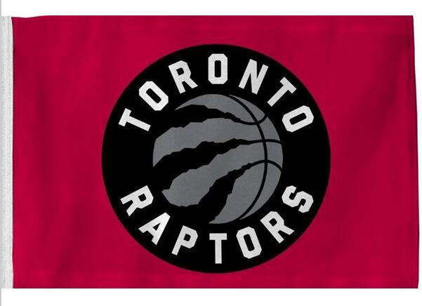 Toronto Raptors Flag 3x5 FT 150X90CM Banner 100D Polyester NBA flag , free shipping