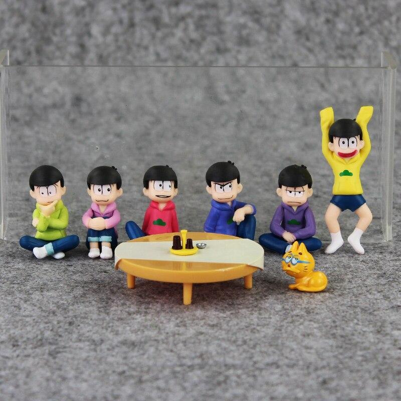 7pcs/set Doraemon Nobi Nobita Toy figure Nobita Pvc Action Figures Doll Toys 20cm Box Packaged Retail Free Shipping