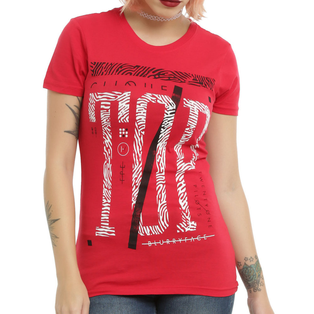S xxl plus size graphic tees women t shirt hip hop twenty for Print one t shirt