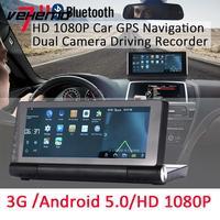 7 HD 1080 P 3g gps навигатор Видеорегистраторы для автомобилей записи HD видео Сенсорный экран FM радио глобальной карте