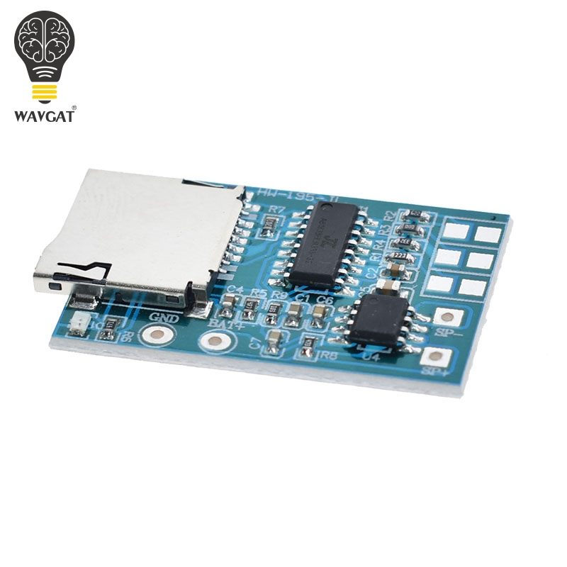 Integrated Circuits Sweet-Tempered Gpd2846a Tf Card Mp3 Decoder Board 2w Amplifier Module Electronic Components & Supplies