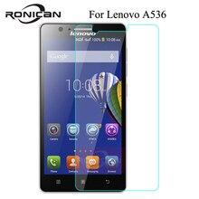 0.26mm przeciwwybuchowe LCD szkło hartowane do Lenovo A536 A 536 538 A358T A538 ochraniacz ekranu pelicula de vidro RONICAN