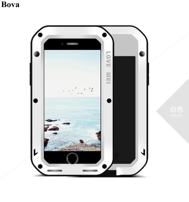 Original Love Mei Waterproof Shockproof Case for iPhone 8 Plus Rugged cover Metal Aluminum Case For iPhone 8 4.7 5.5Original Love Mei Waterproof Shockproof Case for iPhone 8 Plus Rugged cover Metal Aluminum Case For iPhone 8 4.7 5.5