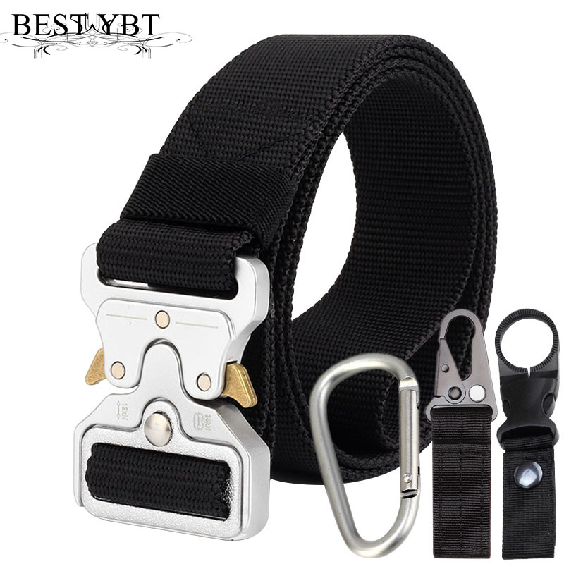 Best Ybt Unisex Nylon Belt 2018 New High Quality Alloy Insert Buckle Men Belt Outdoor Sport Cowboy All-match Casual Nylon Belt Apparel Accessories
