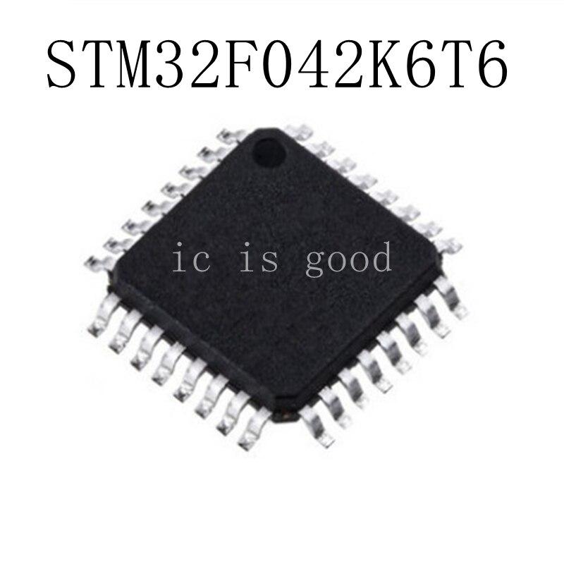 5PCS LOT STM32F042K6T6 LQFP 32 NEW