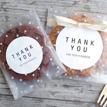 100pcs Transparent Plastic Bag Candy Cookie Gift Bag Frosted OPP Birthday Party Candy Packaging Bag Pouch Box Wedding GIft Bags 100pcs opp transparent flat mouth stand up bag snack bread baking packaging plastic gift candy packaging bags