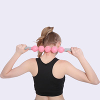 Muscle Roller Yoga Massage Stick Fitness Equipment Body Sport Massage Tool Physical Therapy Restore Pressure Point HW509