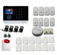 Yobang Security WiFi GSM GPRS RFID Home Burglar Alarm House Surveillance Security System Wireless IP Camera