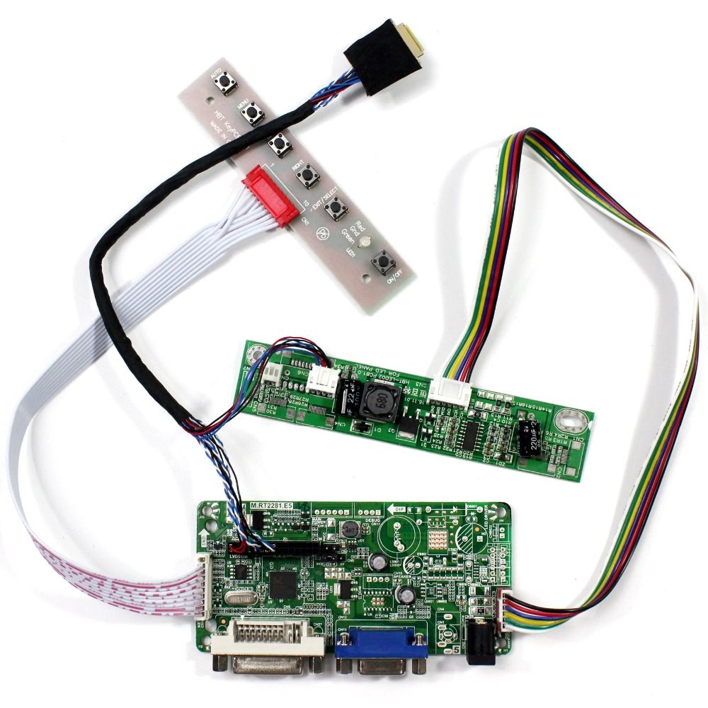 LCD Controller Lvds Monitor Kit for B141XG03 V.0 1024X768 HDMI+DVI+VGA+Audio