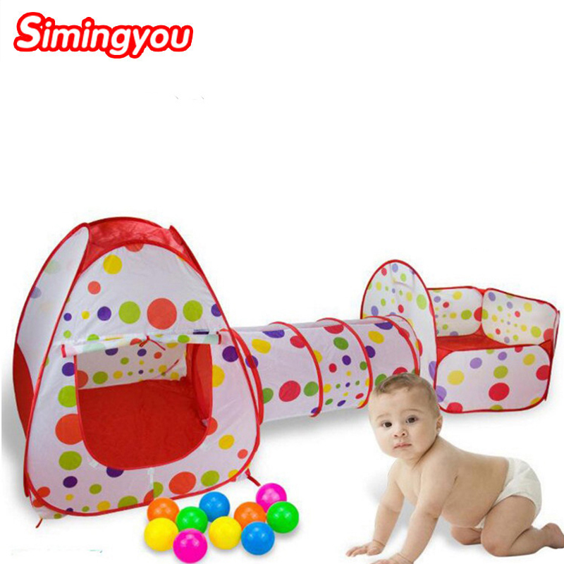Simingyou Outdoor Fun and Sports Lawn Tent Kids Play Tent Tent Educational Toys Game House Ocean Ball Pool C20 DropShipping