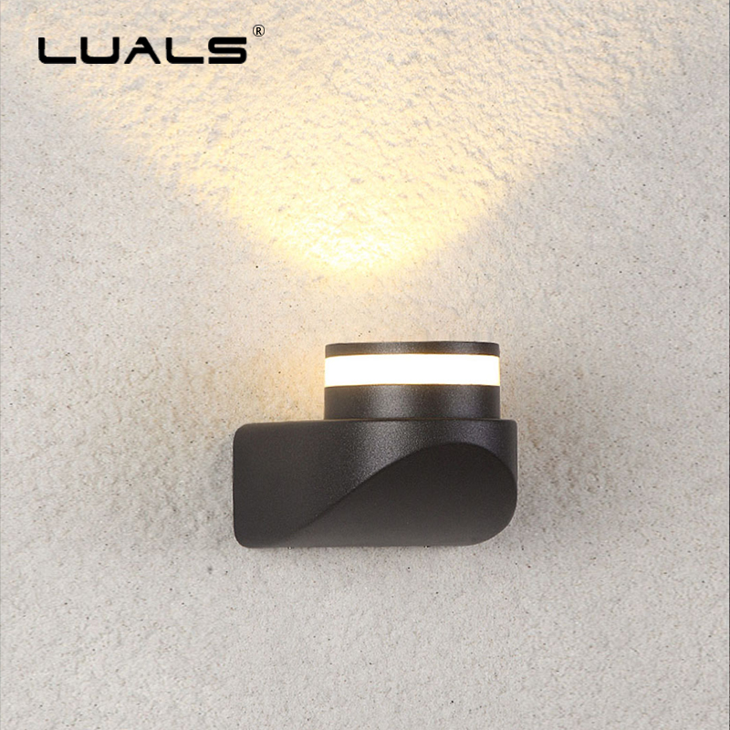 Outdoor Wall Lamp Garden LED Wall Light Fashion Modern Lights Fixture Luxury Home Art Lighting Waterproof Aluminum Wall Lamps led recessed wall light outdoor waterproof ip54 modern wall lamp for stairs art home decoration sconce lighting fixture 1097