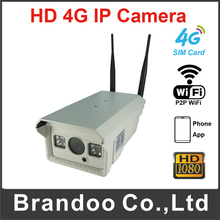 Outdoor 4G Watreproof IP Camera 4G IP CCTV Camera