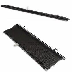 Uniwersalny 58x125cm akcesoria samochodowe chowana boczna szyba samochodowa osłona przeciwsłoneczna automatyczne rolety przeciwsłoneczne folie okienne w Okno boczne od Samochody i motocykle na