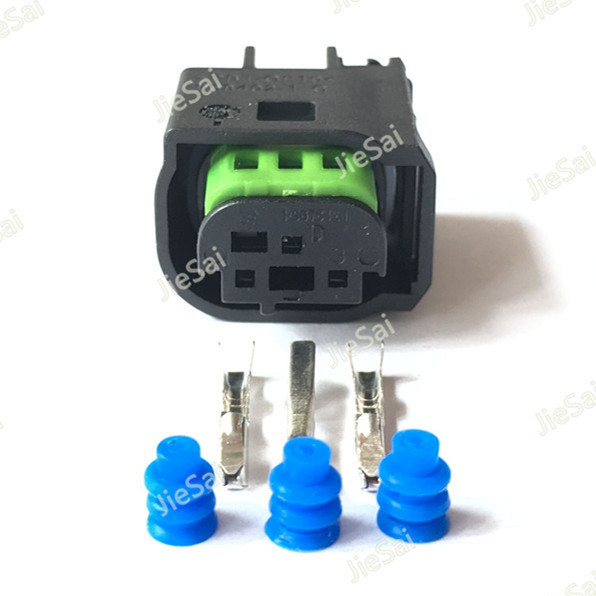 3 pin connector female waterproof wire harness connector for benz Wire Harness Pin Extraction Tool 3 pin connector female waterproof wire harness connector for benz bmw 1 967642 1