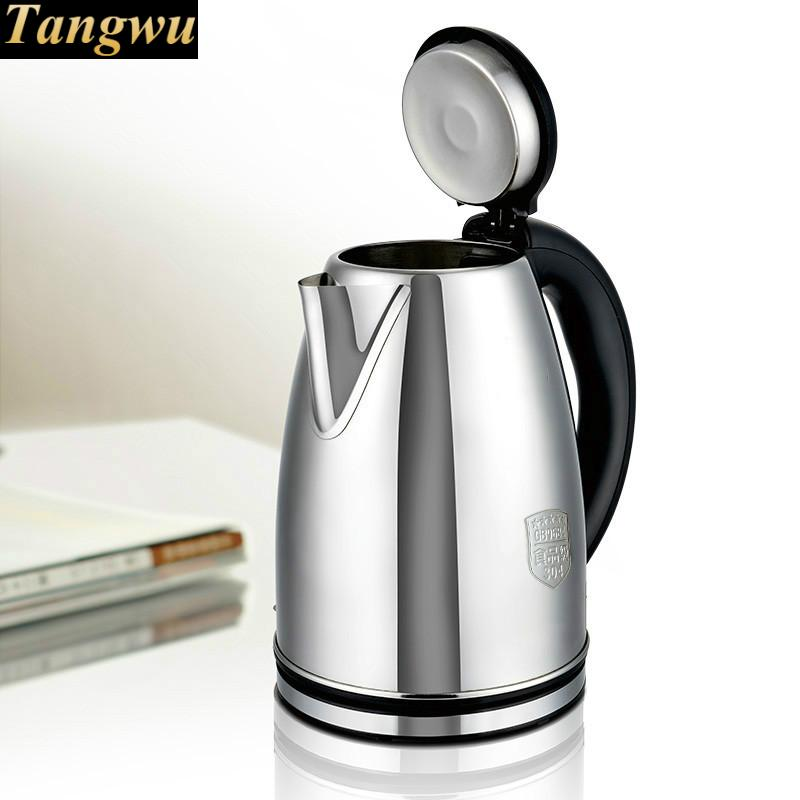 food grade 304 stainless steel kettle kettles 2L large capacity electric teapot Anti-dry Protection electric kettle household automatically 304 stainless steel food grade large capacity