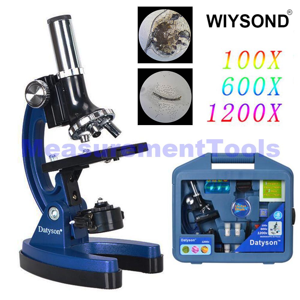 TL064 1200X Biological Educational Student Microscope for Kids Children to Learn Science цена