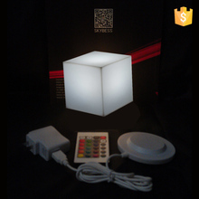 Small size 10cm led cube holiday lighting LED table lamp Waterproof led cube in swimming pool free shipping 2pcs/lot
