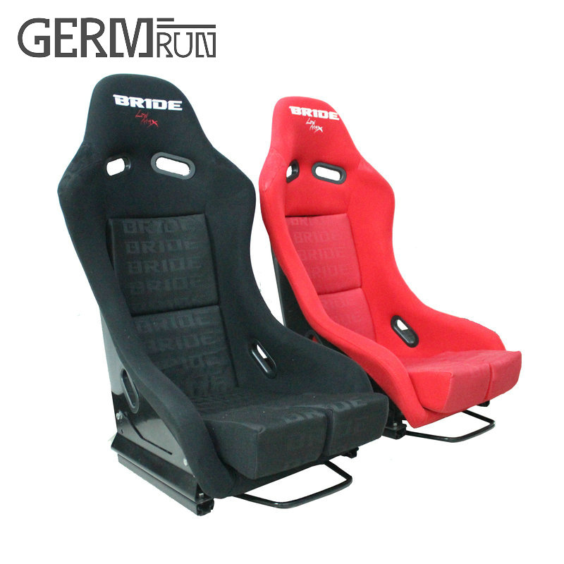 2017 New High quality Racing seat Car Seat Black Blue Red Cloth ...