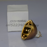 USHIO JCR 15V 150WBAU 15V 150W gold coat halogen lamp,Infrared therapy diagnostic,to IKEN JCR15V150WBAU/T 15V150W bulb