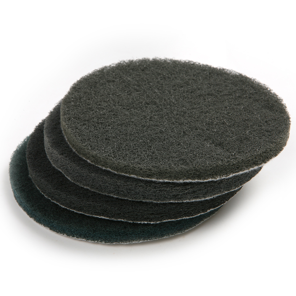 6Pcs Round 5 Inch Grit 1500# Diameter 125mm Scouring Pad Abrasive Tool Processing Wood Metal Coated For Polishing & Grinding