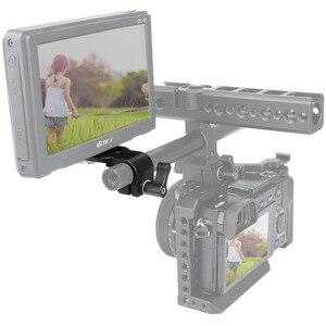 """Image 3 - Niceyrig mini placa de liberação rápida 15mm haste braçadeira para 1/4 """"3/8"""" placa queijo suporte câmera rig braçadeira sapato frio microfone suporte"""