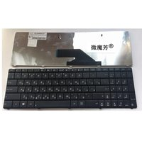 RU New FOR ASUS K75 K75D K75DE K75A K75V K75VJ K75WM Black Laptop Keyboard Russian