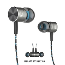 RUKZ X41M Magnetic Earphones HIFI Fever in-ear Earphone Transient Headset Heavy Bass quality earbuds Virulent Vocals Earpeices