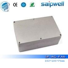 2015 New aluminium waterproof electronic enclosure,  good quanlity electronic box SP-AG-FA6, 222*145*75mm