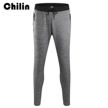 Chilin Sweatpants Men Pants Compress Gym Jogging Leggings Mens Fitness Workout Sport Fitness Joggers Male Breathable Pants 8009
