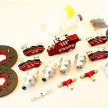 GTB racing 4 колеса гидравлическая Дисковая тормозная система для HPI/KM/ROVAN baja 5B 5 T 5SC
