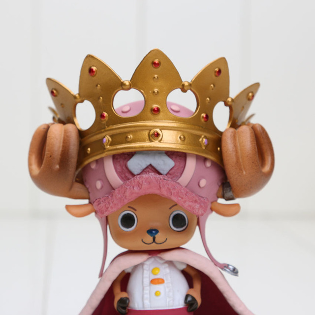 One Piece Tony Tony Chopper en Corona Figura de Acción