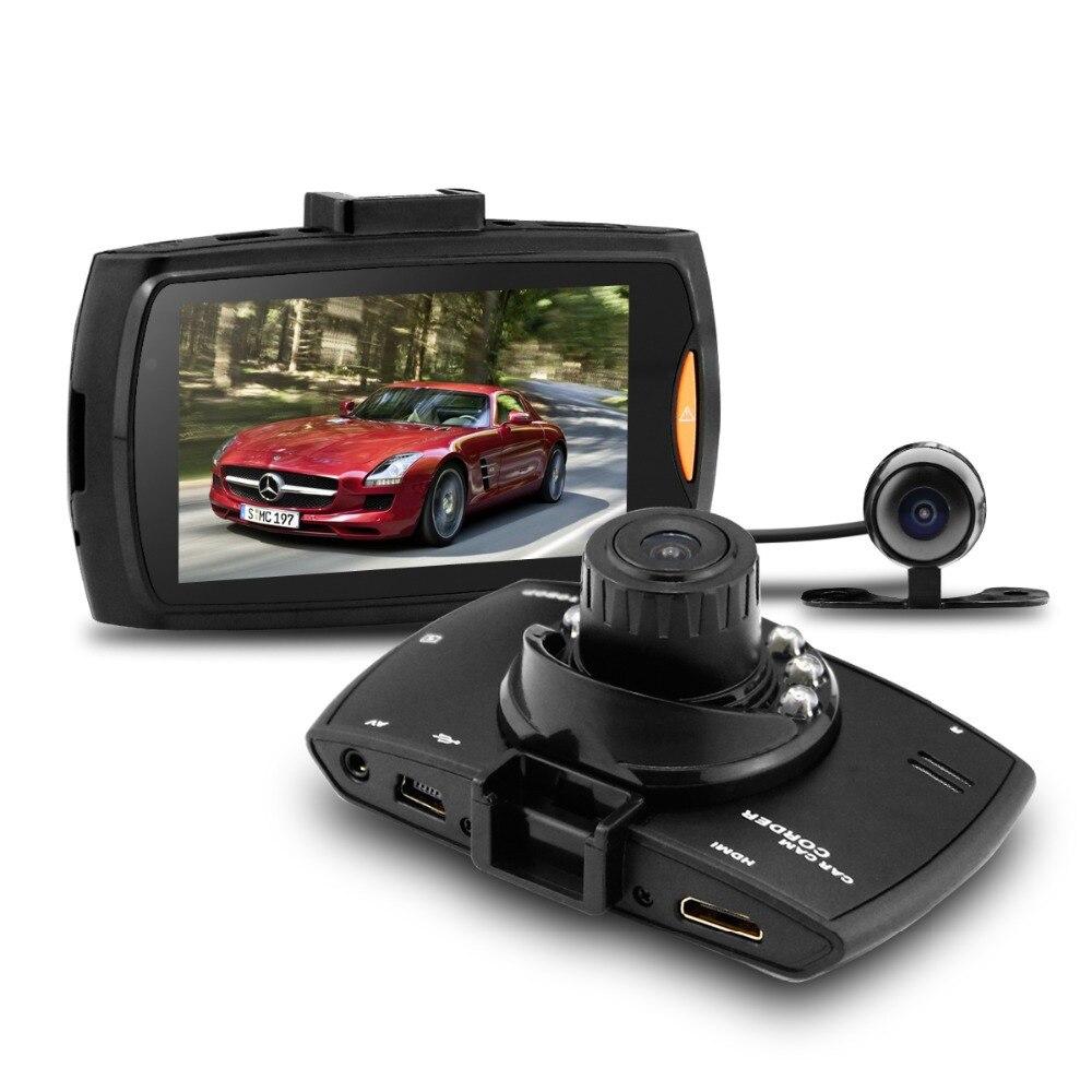 Шесть ночного видения Duall объектив Автомобильный видеорегистратор 2.7 панели Allwinner A10 Полный HD1080P DVR Камера Регистраторы Автомобиль путешест...