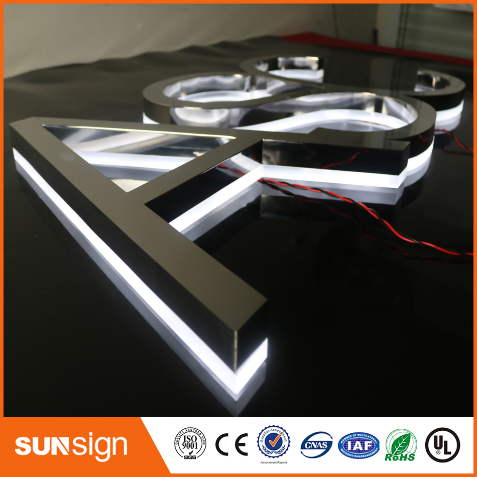 Mini LED Backlit Channel Letter Signs/LED Open Signs