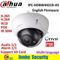2016 Dahua IPC HDB4431R AS IR HD 1080p IP Camera 4MP IR Security Cctv Dome Camera