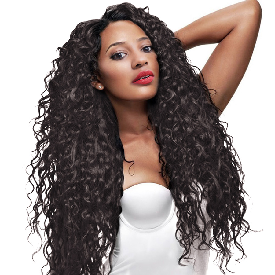 360 Lace Frontal Wig Pre Plucked With Baby Hair RXY Curly Lace Front Human Hair Wigs For Women Non Remy Black Lace Front Wigs