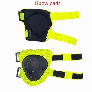 Image 3 - LANOVA 6 teile/satz schutzhülle patins Gesetzt Knie Pads Ellenbogen Pads Handgelenk Protector Schutz für Roller Radfahren Roller Skating