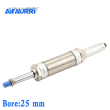 Bore: 25mm,MAJ 25 Adjustable Cylinder,  Stroke: 25/50/75/100/125/150/200-Smm airtac type
