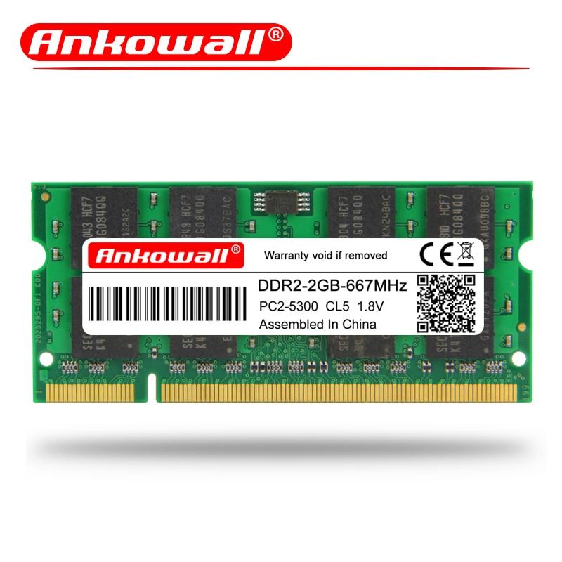 UC Laptop DDR2 SODIMM 667MHz RAM S T 2GB Memory Gateway Notebook P TC