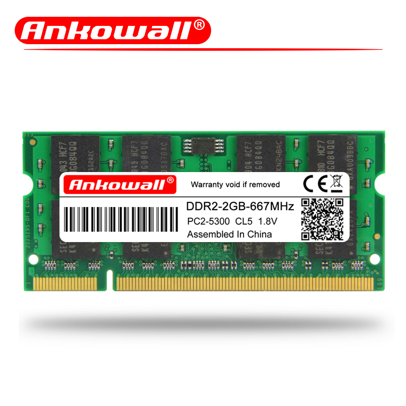 4GB NEW BULK LOT 2x2GB Memory PC2-5300 SODIMM For Lenovo Thinkpad R61e