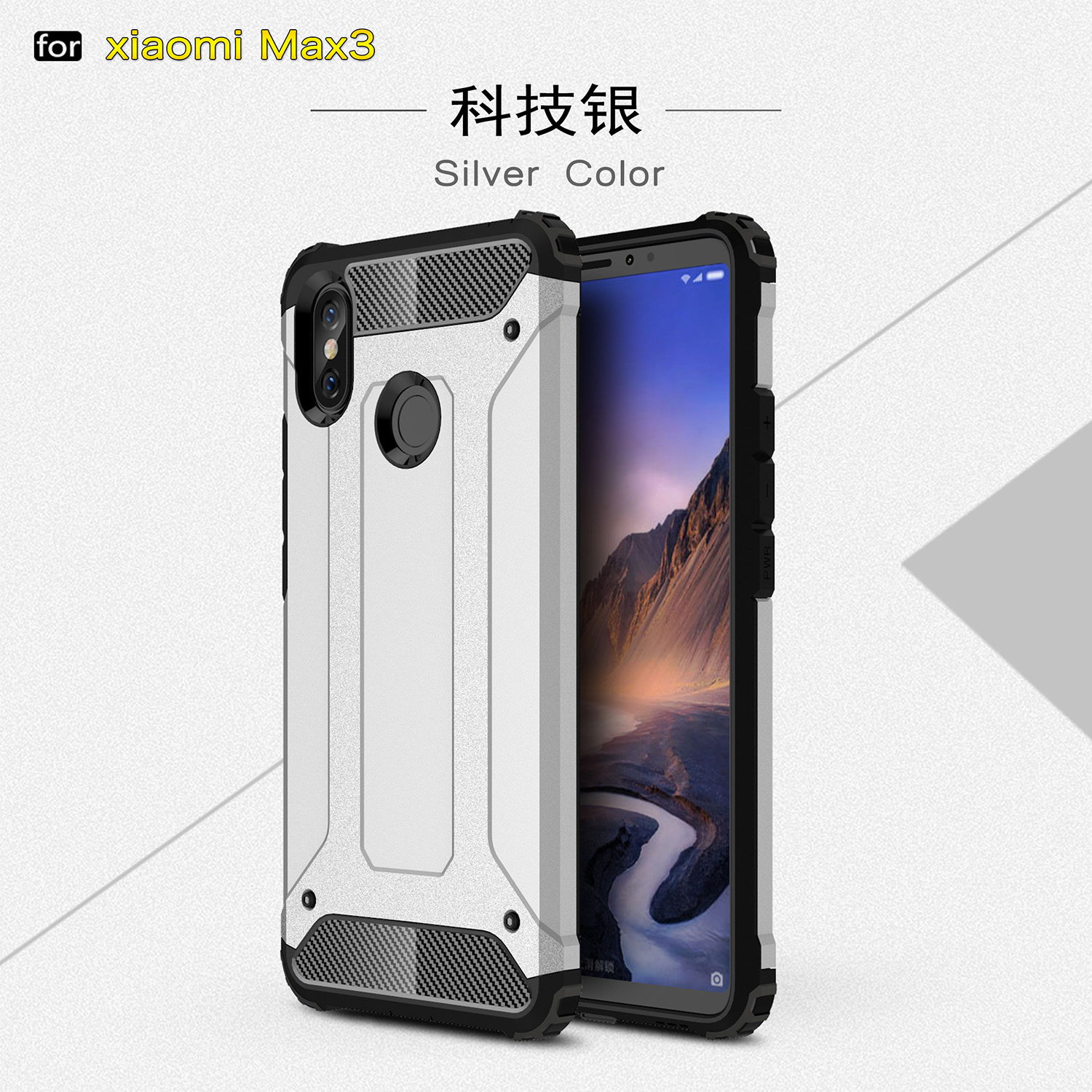 Aliexpress Buy Fitted Phone Case Xiaomi Mi Max 3 Case Silicone Bumper Hybrid Armor PC Cover For Xiaomi Mi Max 3 Case Mi Max 3 Coque 6 9 inch from
