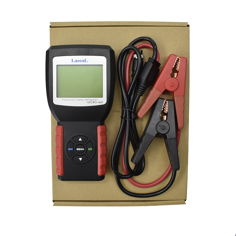 Lancol MICRO 468 Portable 12V Auto Digital CCA Battery Measuring Instrument Automobile Battery Analyzer Car Battery