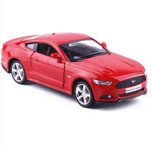 Image 3 - 1:36 legering trek auto modellen, hoge simulatie Ford Mustang 2015GT speelgoed, speelgoed voertuigen, educatief speelgoed, gratis verzending