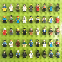 Babytry Military Soldiers Brinquedos Building Bricks Compatible Ninjagoed Blocks Mini Figures Toys For Children Boys