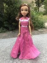 """Disney descendentes coronação audrey auradon prep, 11 """"/28cm figura de ação, bonecas de brinquedo soltas"""