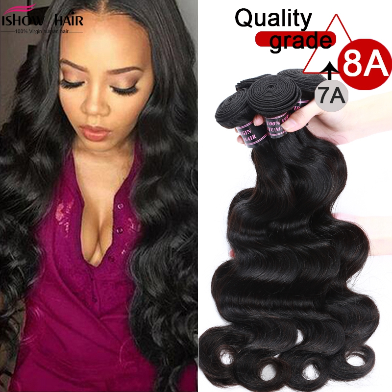 8a unprocessed peruvian body wave 4 bundles virgin hair