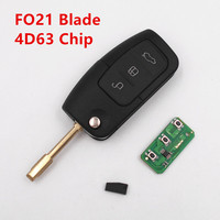 Remote Key 433MHz 4D63 Chip For FORD Fiesta C Max S Max Focus Mondeo KUGA Galaxy