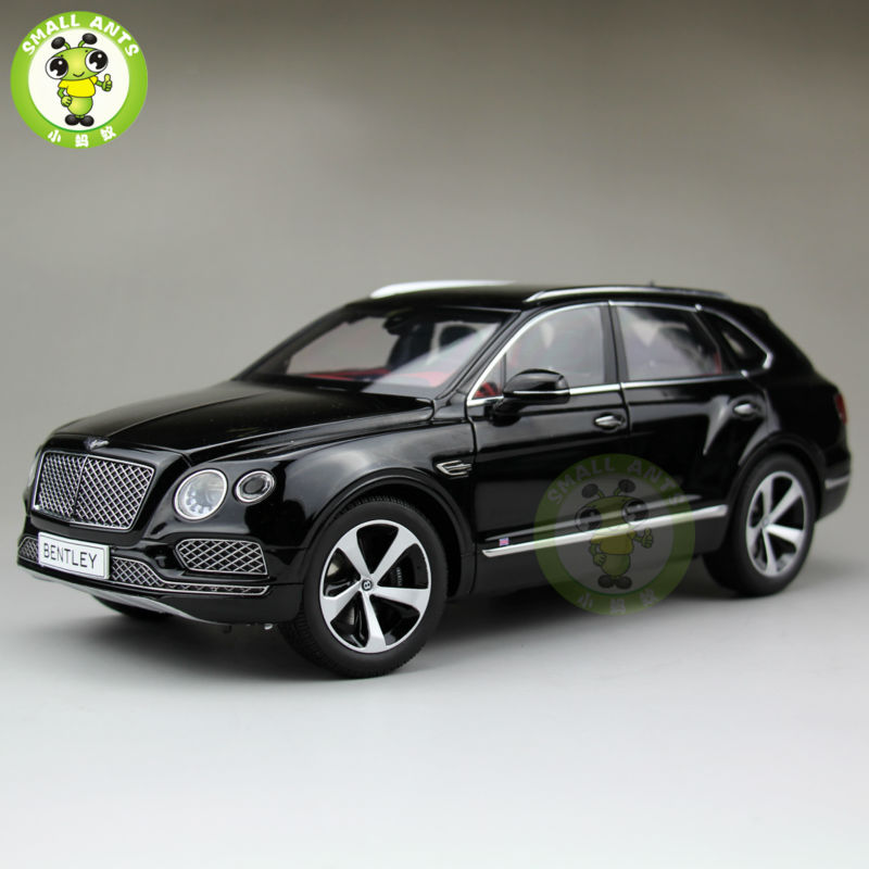 1:18 Scale Kyosho Bentley Bentayga Diecast SUV Automotive Mannequin Black 08921