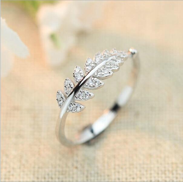 Simple Silver Wedding Rings For Women Aliexpress.com : Buy S...