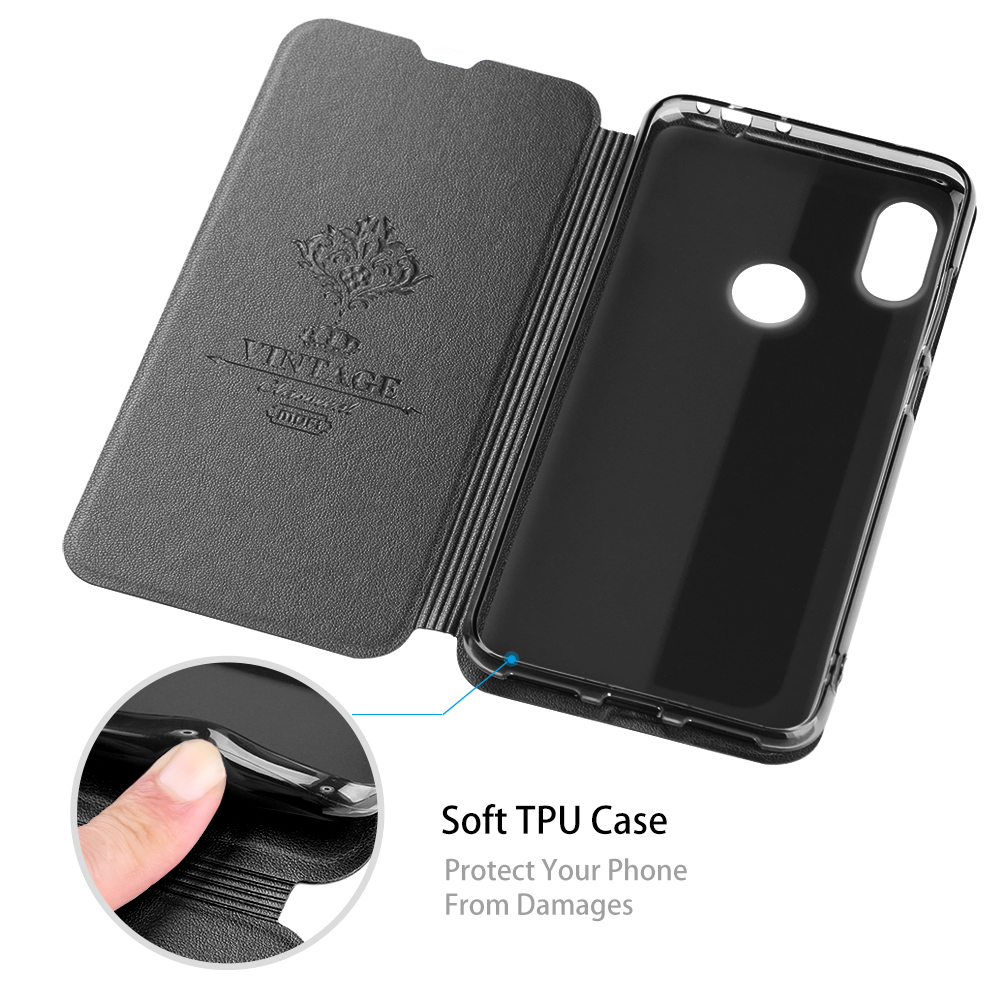 Image 4 - for Redmi K20 Pro Case Xiaomi K20 Flip Cover for Mi K20 pro Case Xiomi Housing MOFi TPU PU Leather Soft Silicone Stand-in Flip Cases from Cellphones & Telecommunications
